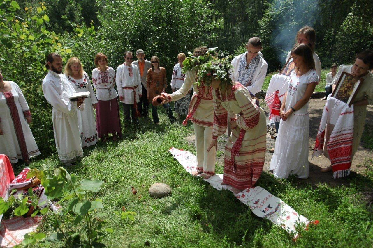 Старинные свадебные обряды в 71